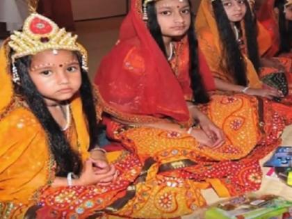 Chaitra Durga Ashtami 2021 mata mahagauri Puja Vidhi, mantra, shubh muhurat all details   Chaitra Durga Ashtami 2021: आज है अष्टमी, होगी मां महागौरी की पूजा, जानें कन्या पूजन का शुभ मुहूर्त और सही विधि
