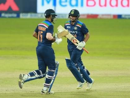 India vs Sri Lanka 3rd T20I Match only 81 runsDhawan and Samsonout zeroKuldeep Yadav played an innings of 23 runs | निर्णायक मुकाबले में फेल भारतीय खिलाड़ी, सिर्फ81 रन बनाए, धवन और सैमसन जीरो पर आउट,कुलदीप यादव ने खेली 23 रन की पारी