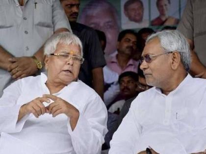 Bihar NDARJD chief Lalu Prasad Yadav Tejashwi Yadavalertkeepingclose eye on MLAs patna jdu bjp   बिहार एनडीए मेंसियासी मनमुटाव,राजद प्रमुख लालू प्रसाद यादव औरतेजस्वी सतर्क,कांग्रेस विधायकों पर पैनी नजर