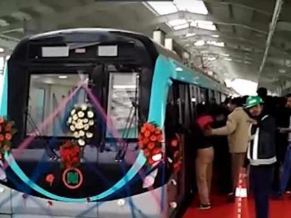 Noida Metro services restored39 daysfrom 7 am to 8 pmclosed on Saturday and Sunday | 39 दिन बादनोएडा मेट्रो की सेवाएं बहाल,सुबह सात से रात आठ बजे तक,शनिवार और रविवार को बंद