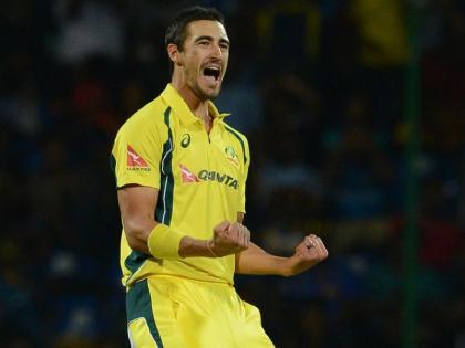 West Indies vs AustraliaMitchell Starc's Five-Wicket Haulwinning by 133 runs after being bundled out for 123 runs   मिशेल स्टार्क का पंच,ऑस्ट्रेलिया नेवेस्टइंडीज को हरा टी-20 का बदला लिया,123 रन पर समेटकर 133 रन से जीते