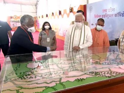 Modi lays foundation stone of Raja Mahendra Pratap Singh University in Aligarh | यूपी चुनाव से पहले पीएम मोदी का तोहफा, अलीगढ़ में राजा महेंद्र प्रताप सिंह विश्वविद्यालय की रखी आधारशिला