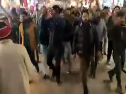 Bjp Jawahar Yadav Share Haryana rally video slogans Modi ji tum lath bajao hum tumhare sath hain | 'मोदी जी तुम लठ बजाओ, हम तुम्हारे साथ हैं', हरियाणा की रैली में लगे ये नारे, बीजेपी नेता ने शेयर कर लिखी ये बात