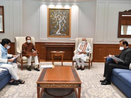 Maharashtra CM Uddhav Thackeray met PM Narendra Modi discuss Maratha reservation GST compensation | पीएम मोदी से मिलेसीएम उद्धव ठाकरे औरअजित पवार,मराठा आरक्षण, मेट्रो शेड औरजीएसटी कलेक्शन पर बात