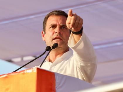 congress leader rahul gandhi attacks on pm modi, said - Those who are afraid can go from Congress   'संघ और भाजपा से डरने वालों की कांग्रेस में कोई जगह नहीं', राहुल गांधी की दो टूक, ज्योतिरादित्य सिंधिया पर कसा तंज