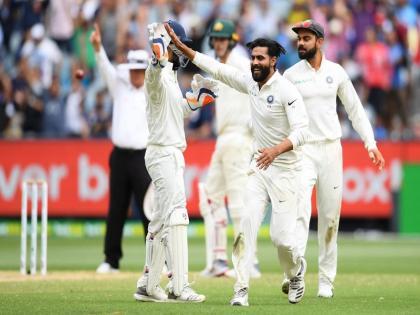Test all-rounder ranking Ravindra Jadeja overtakes Jason HolderBen Stokes 3rd and Ravichandran Ashwin fourth list | टेस्ट आल राउंडर रैंकिंगःरविंद्र जडेजा का जलवा, जेसन होल्डर से आगे निकले, जानिएस्टोक्स और अश्विन किस स्थान पर