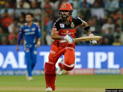 IPL 2021KKR vs RCBVirat Kohli fails fireworks 200th IPL appearance 4 balls 5 runs   IPL 2021:200वां मैच में सस्ते पर आउट हुएआरसीबीकप्तान विराट कोहली, 4 गेंद में 5 रन बनाकर out