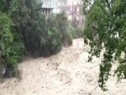 uttarakhand many rivers including ganga and yamuna are in spate due to rain   उत्तराखंड में खतरे के निशान तक पहुंचा गंगा का जलस्तर, भारी बारिश से यमुना सहित कई नदियां उफान पर