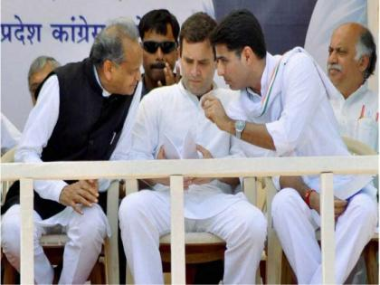 congress PunjabRajasthan reshuffleSachin Pilot may be Chief Minister place of Ashok Gehlot | पंजाब के बाद राजस्थान कांग्रेस में फेरबदलः अशोक गहलोत की जगह सचिन पायलट हो सकते हैं मुख्यमंत्री!