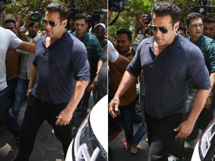 In the matter of stopping Salman Khan at the airport CISF officer said this is our duty and we will continue to do it | सलमान खान को एयरपोर्ट पर रोकने के मामले में बोले CISF अधिकारी, ये हमारी ड्यूटी है और हम इसे निभाते रहेंगे