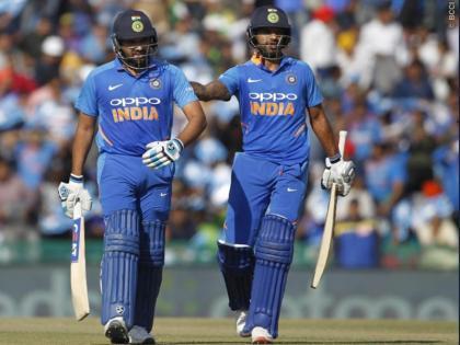 ICC ODI RankingsShikhar DhawanVirat kohlisecond place with 848 points babar azam number 1 and rohit sharma 3rd   आईसीसी वनडे रैंकिंगः सीरीज के साथशिखर धवन को फायदा,848 अंक के साथ विराट दूसरे स्थान पर, जानिए पहले और तीसरे पर कौन