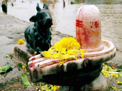 1200 year old Shiva temple Thieves excavated removing Shivlingone feet deep pit inside the sanctum | चोरों ने 1200 साल पुराने शिव मंदिर में खुदाई की,शिवलिंग को हटाकर गर्भगृह के अंदर एक फीट गहरा गड्ढा खोदा, जानें मामला