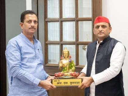 uttar pradeshSP President Akhilesh Yadav meet BSP General Secretary RS Kushwaha may hold hands assembly elections   बसपा प्रमुख मायावती को लग सकता है झटका, सपा अध्यक्ष अखिलेश यादव से मिलेआरएस कुशवाहा, विधानसभा चुनाव से पहले थाम सकते हैं दामन!