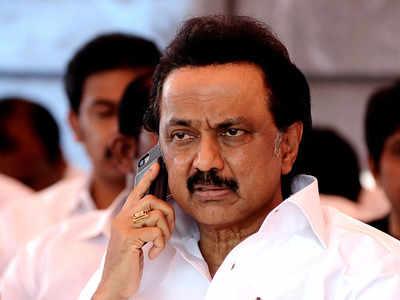 rajya sabha poll in Tamil Nadudmk congressfields Kanimozhi NVN Somu and KRN Rajeshkumar | RS poll in Tamil Nadu: डीएमके ने कांग्रेस को दिया झटका,सीएम स्टालिन ने दोनों सीट पर प्रत्याशी उतारे, जानें मामला