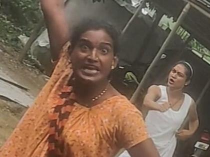 AssamWoman journalistspattelling trans person wear mask victim wrote no one has to see such a dayViral Video | वायरल वीडियो: किन्नर ने महिला पत्रकार के संग किया आपत्तिजनक बरताव, पीड़ित ने लिखा- ऐसा दिन किसी को न देखना पड़े