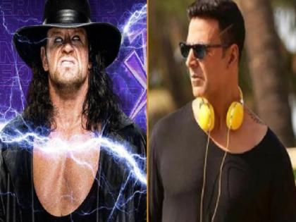 Akshay Kumar gets challenged to fight by real Undertaker   अक्षय कुमार को असली अंडरटेकर ने दी फाइट की चुनौती, 'खिलाड़ी' ने मजेदार जवाब से लूट ली महफिल