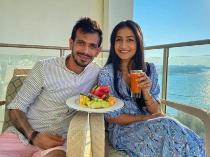 Video of cricketer Chahal and his wife is viral on social media   VIDEO: क्रिकेटर चहल और उनकी पत्नी का वीडियो सोशल मीडिया पर वायरल, यूजर्स कर रहे हैं ऐसे कमेंट