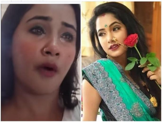 Bhojpuri actress Trisha Kar Madhu broke down after MMS video leaked said we both made the video but she was cheated | 'हां, हम दोनों ने वीडियो बनाया था, नहीं पता था कि'..., MMS लीक होने पर टूटीं भोजपुरी अभिनेत्री त्रिशा कर मधु