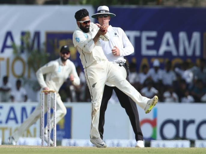 Sri Lanka vs New Zealand, 1st Test: Sri Lanka finish the day on 227/7, Ajaz Patel make history   SL vs NZ, 1st Test: एजाज पटेल ने रचा इतिहास, श्रीलंका ने पहले दिन बनाए 7 विकेट पर 227 रन