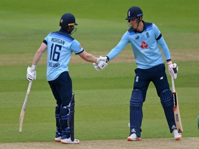 ENG vs IRE, 3rd ODI: Ireland need 329 runs to win | ENG vs IRE, 3rd ODI: इयोन मोर्गन ने जड़ा तूफानी शतक, आयरलैंड को सम्मान बचाने के लिए 329 रन का टारगेट