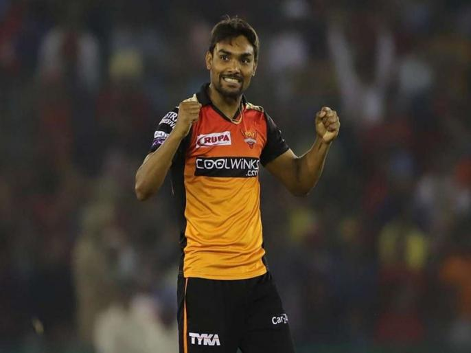 IPL 2020, Kings XI Punjab vs Sunrisers Hyderabad: Sandeep Sharma 100 wicket in ipl | IPL 2020, KXIP vs SRH: संदीप शर्मा बने आईपीएल में 100 विकेट झटकने वाले छठे भारतीय
