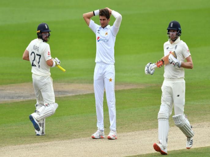 ENG vs PAK, 1st Test: England won by 3 wkts, Results in Pakistan's last seven Tests outside Pak/UAE | ENG vs PAK, 1st Test: इंग्लैंड ने 3 विकेट से दी मात, घरेलू मैदान से बाहर पाकिस्तान की लगातार 7वीं टेस्ट हार
