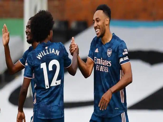 Willian sets up Arsenal's 3 goals in opening win at Fulham | आर्सेनल ने फुलहम को 3-0 से हराकर प्रीमियर लीग सत्र का आगाज किया