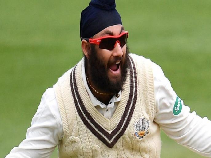 Amar Virdi hopes to follow fellow Sikh Monty Panesar into England team | भारतीय मूल के स्पिनर को मिल सकती है इंग्लैंड की टीम में जगह, 8 जुलाई से वेस्टइंडीज के खिलाफ टेस्ट सीरीज
