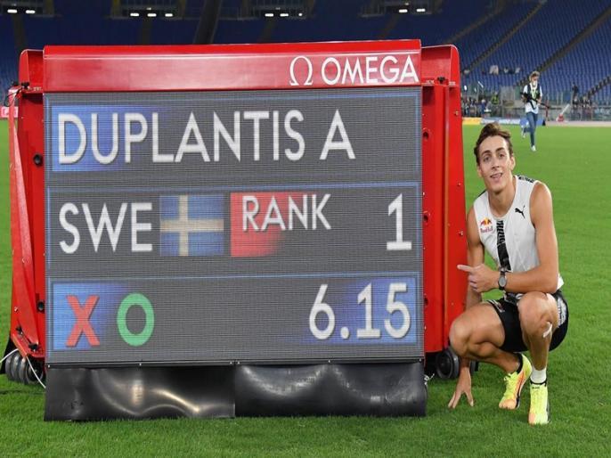 Pole vaulter Armand Duplantis clears 6.15m to break Sergey Bubka's 26-year-old outdoor world record | पोल वॉल्टर डुप्लांटिस ने रच दिया इतिहास, तोड़ा सर्जेइ बुबका का 26 साल पुराना विश्व रिकॉर्ड