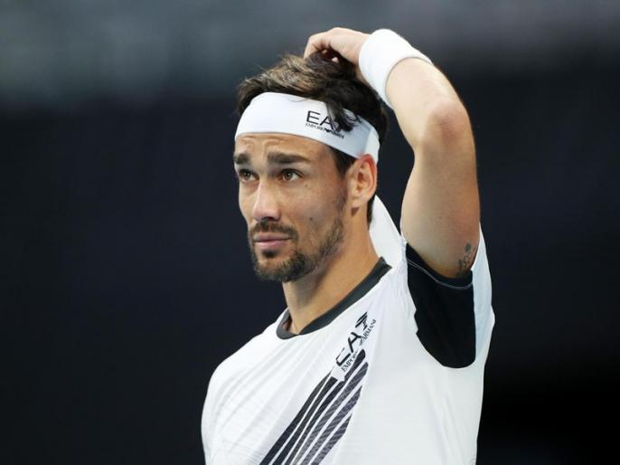 Fabio Fognini tests positive for virus | कोरोना पॉजिटिव पाए गए फाबियो फोगनिनी, सरदीनिया ओपन टेनिस टूर्नामेंट से बाहर