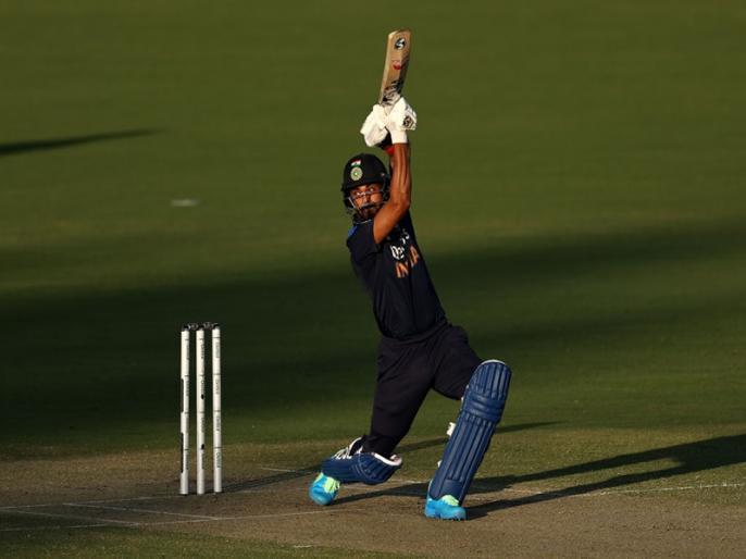 India vs Australia, 1st T20I: Australia need 162 runs to win   IND vs AUS, 1st T20I: केएल राहुल-रवींद्र जडेजा के दम भारत ने बनाए 161 रन