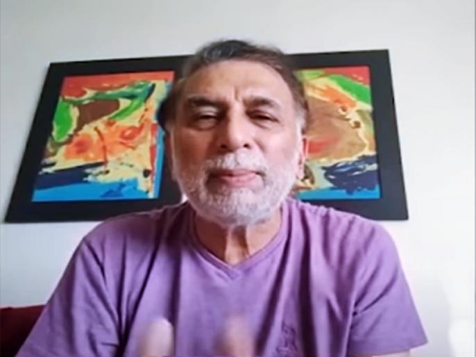 Sunil Gavaskar in white beard, Shares his experience on Ramiz Speaks | लॉकडाउन में सुनील गावस्कर ने बढ़ा ली दाढ़ी, बोले- वैसे भी अब हमें कौन देखता है