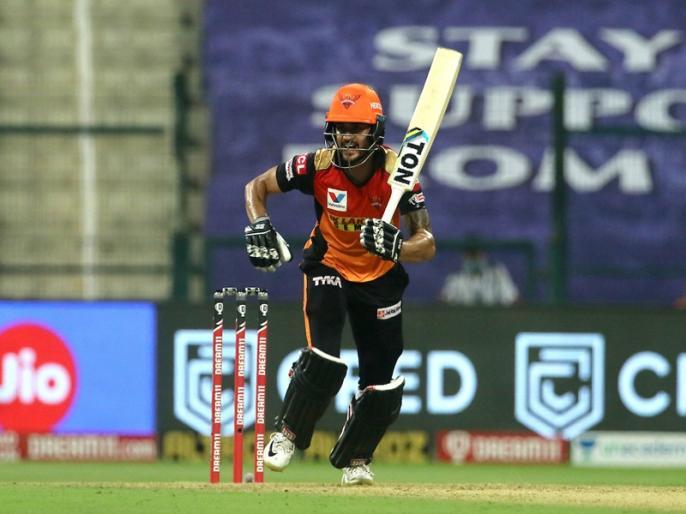 IPL 2020, Kolkata Knight Riders vs Sunrisers Hyderabad: | IPL 2020, KKR vs SRH: मनीष पांडे ने जड़ा आईपीएल करियर का 16वां अर्धशतक