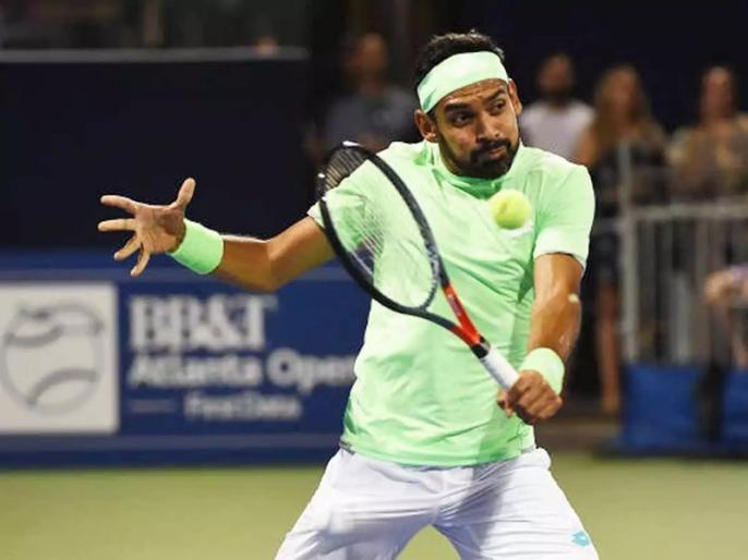 Divij and his partner Bambridge enter Astana Open quarters | दिविज और बामब्रीज की अस्ताना ओपन के क्वार्टर फाइनल में