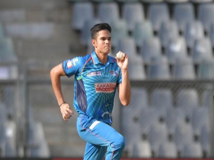 Syed Mushtaq Ali Trophy 2021, Mumbai vs Puducherry, Elite Group E: Arjun Tendulkar take just 2 wickets in 2 match   अर्जुन तेंदुलकर के बल्ले से निकले महज 3 रन, दो मैचों में 67 रन देकर झटके 2 विकेट