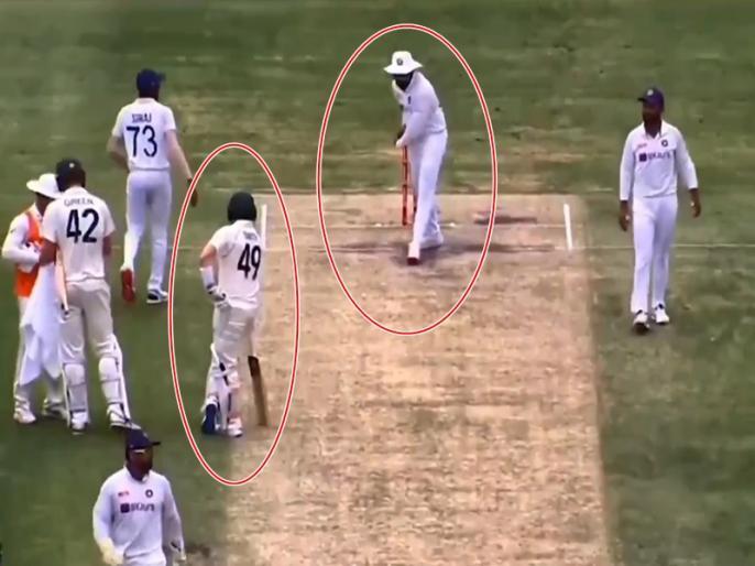 India vs Australia, 4th Test: Rohit Sharma does shadow practice, Steve Smith watching | IND vs AUS, 4th Test: रोहित शर्मा ने बीच मैदान उड़ाया स्टीव स्मिथ का मजाक! वीडियो हुआ वायरल