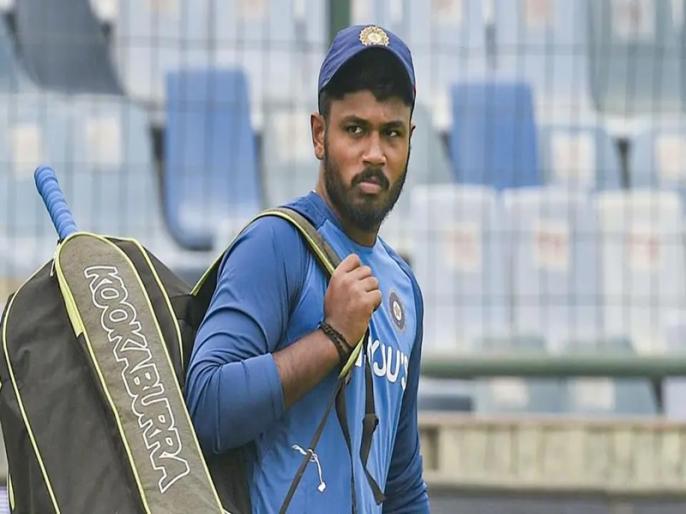 India vs West Indies: Sanju Samson receives grand welcome at Thiruvanthapuram airport - Watch | IND vs WI: तिरुवनन्तपुरम में हुआ 'लोकल ब्वॉय' संजू सैमसन का जोरदार स्वागत, वायरल हुआ वीडियो