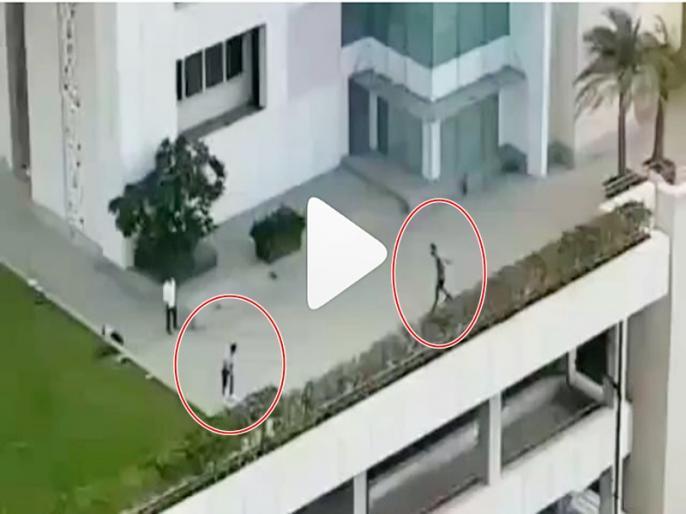 Video: Anushka Sharma bowls a bouncer to Virat Kohli at their residence | वाइफ अनुष्का को लॉकडाउन के बीच क्रिकेट की ट्रेनिंग दे रहे विराट कोहली, वीडियो कुछ ही घंटों में वायरल