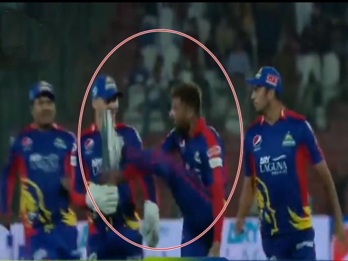 Pakistan Super League 2021, Karachi Kings vs Lahore Qalandars: Mohammad Amir aggressive celebration goes viral | Video: मोहम्मद आमिर विकेट मिलने के बाद खुद पर नहीं रख पाए काबू, हवा में चलाई लात