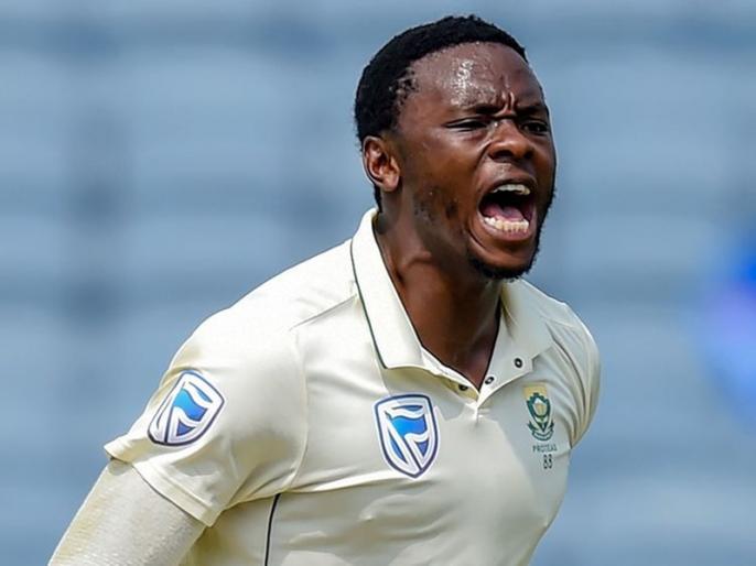 Pakistan vs South Africa, 1st Test: Kagiso Rabada youngst South African fast bowler to picked 200 Test Wickets | PAK vs SA, 1st Test: कगीसो रबाडा ने रच दिया इतिहास, टेस्ट क्रिकेट में कोई साउथ अफ्रीकी ना कर सका था ऐसा