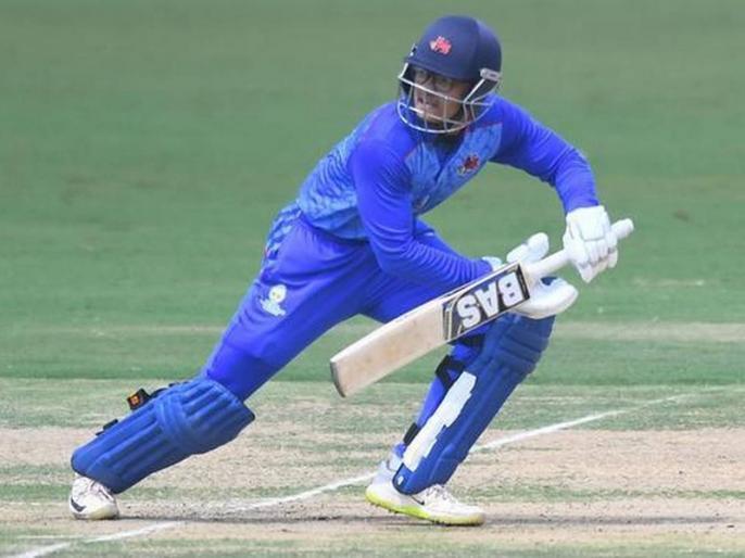 Vijay Hazare Trophy, Uttarakhand vs Meghalaya, Round 1, Plate: Jay Bista slams 141, powers Uttarakhand to win over Meghalaya | जय बिष्टा की विजय हजारे ट्रॉफी में विस्फोटक पारी, 18 चौकों और 3 छक्कों की मदद से ठोके 141 रन