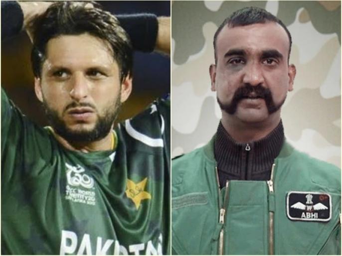 Former pakistani cricketer shahid afridi controversial comments on abhinandan-varthaman and harbhajan singh-yuvraj singh   नहीं मान रहे शाहिद अफरीदी, इस बार अभिनंदन को लेकर कसा तंज, युवी-भज्जी को बताया मजबूर