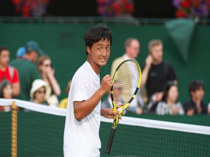 Wimbledon 2019: Shintaro Mochizuki becomes first Japanese player to win boy's Grand Slam title   Wimbledon 2019: शिनतारो मोशिजुकी ने जूनियर खिताब जीतकर रच दिया इतिहास