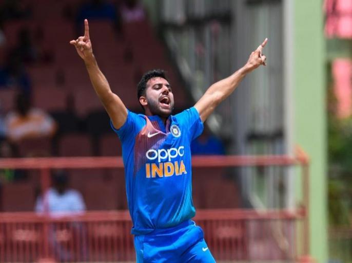 India vs bangladesh, 3rd t20I: Deepak Chahar - 1st Indian to take a hat-trick in T20Is. | Ind vs Ban, 3rd t20I: दीपक चाहर ने रच दिया इतिहास, टी20 अंतर्राष्ट्रीय में हैट-ट्रिक लेने वाले पहले भारतीय बने