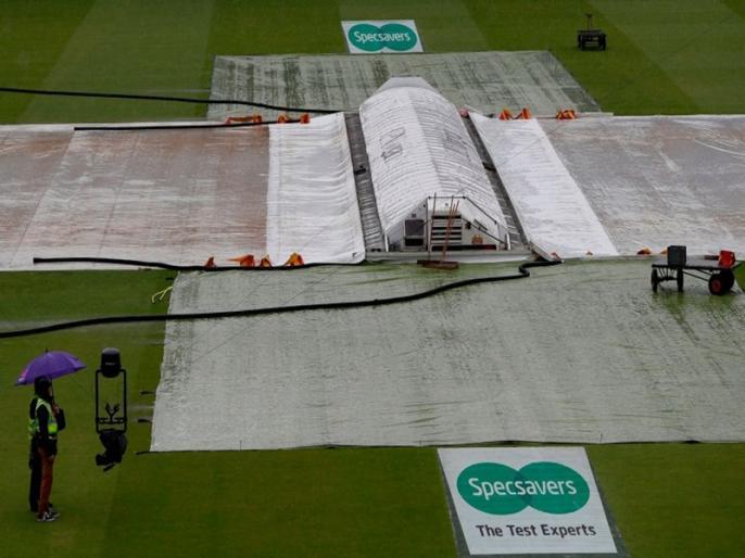 Ashes 2019, England vs Australia, 2nd Test: day 1 play has been abandoned | Ashes 2019: बारिश में धुला पहला दिन, जोफ्रा आर्चर को सौंपी गई डेब्यू कैप