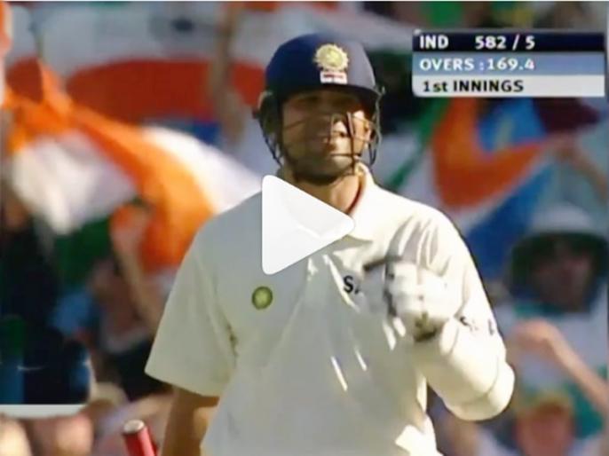 Sachin Tendulkar's unbeaten 241 vs Australia his most disciplined innings: Brian Lara | ब्रायन लारा ने शेयर किया वीडियो, सचिन तेंदुलकर की इस इनिंग को बताया सबसे 'अनुशासित'