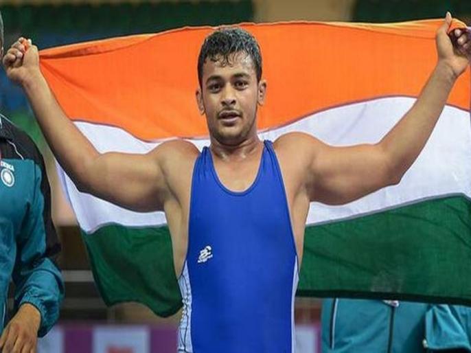Wrestling: Deepak Punia ends India's 18-year wait for a gold medallist at Junior World Championships | कुश्ती: 18 साल बाद जूनियर विश्व चैम्पिनयशिप का खिताब जीतने वाले भारतीय बने दीपक पूनिया