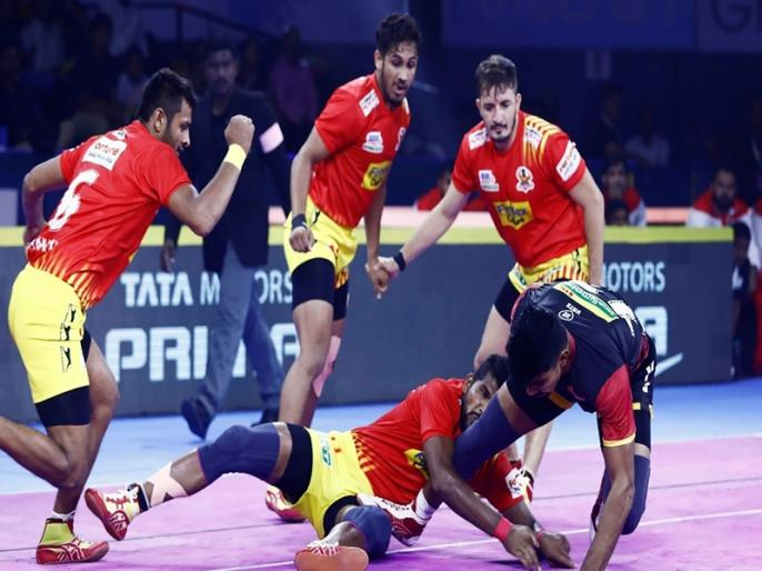 PKL 2019, Gujarat Fortunegiants vs Jaipur Pink Panthers match preview and team analysis   PKL 2019, Gujarat Fortunegiants vs Jaipur Pink Panthers: हार का क्रम तोड़ने उतरेगा गुजरात फॉर्च्यून जायंट्स