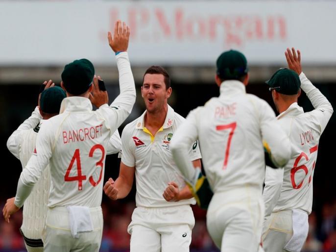 Ashes 2019, England vs Australia, 2nd Test: Josh Hazlewood takes 3 wickets, england- 201/6 | Ashes 2019, ENG vs AUS, 2nd Test: जोश हेजलवुड ने मेजबान टीम को झकझोरा, चायकाल तक इंग्लैंड- 201/6