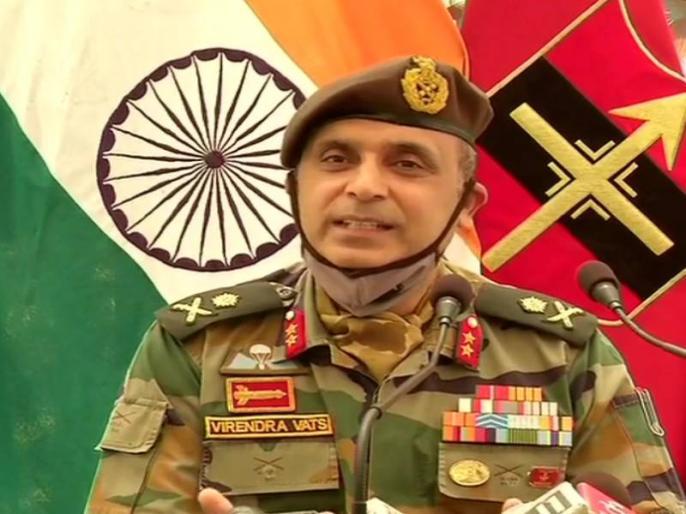 indian army Major General Virendra Vats said 250-300 terrorists ready to infiltrate into Kashmir across LoC | जम्मू-कश्मीर: सेना ने कहा- सीमा पार बने लॉन्चपैड्स पर करीब 300 आतंकी मौजूद, घुसपैठ की कर रहे हैं कोशिश